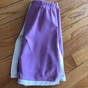 Ladies cute 4-6 size dri-fit tennis shorts